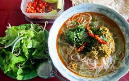 Bún rạm Phù Mỹ – món ăn dân dã tại đất võ Bình Định