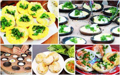 Cách làm bánh căn Nha Trang – Món ngon tuyệt vời vang danh phố biển