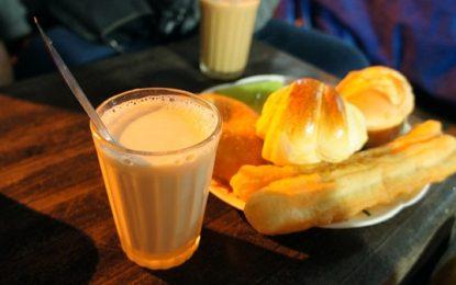 Thưởng thức sữa đậu nành khi đến Đà Lạt
