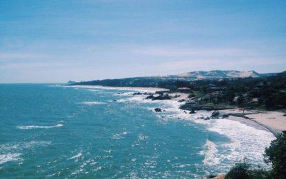 Chạm chân đến vịnh Đá Nhảy Phan Thiết để biết nếm mùi bình yên