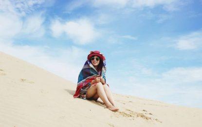 Đồi cát Nam Cương Ninh Thuận- tuyệt tác chỉ cách vài bước chân